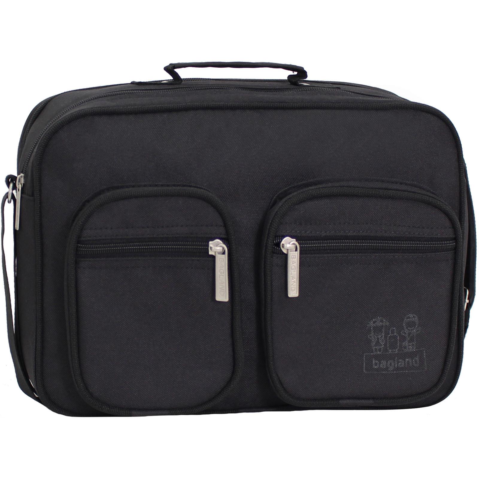 Сумки через плечо Мужская сумка Bagland Mr.Black 11 л. Чёрный (0026466) IMG_9964.JPG