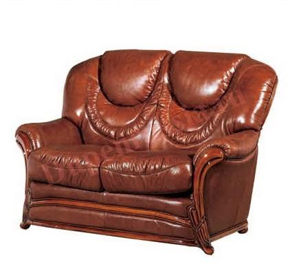 Диван ESFA67 2-х местный коричневый