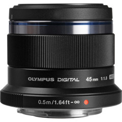 M.ZUIKO DIGITAL ET-M4518/ 45мм 1:1.8 черный