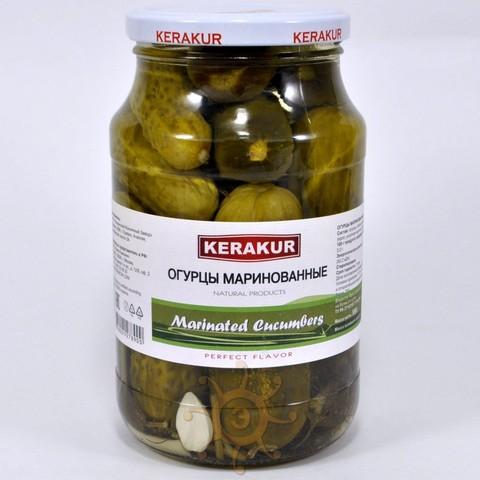 Огурцы маринованные Керакур, 950г