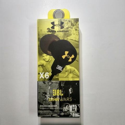 Гарнитура JBL X6 black