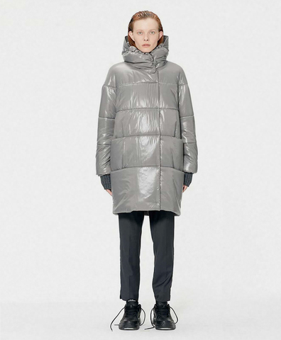 Зимнее пальто Дайана grey