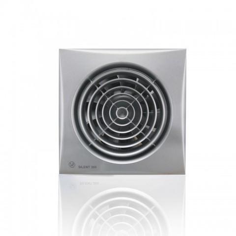 Вентилятор накладной S&P Silent 300 CRZ Silver (таймер)