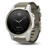 Беговые часы Garmin Fenix 5s Sapphire with Suede Band