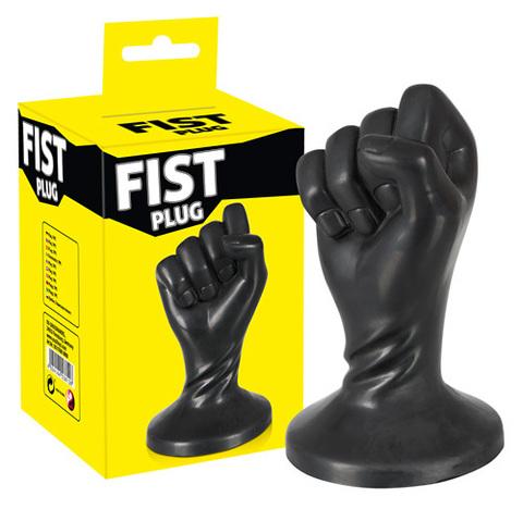 Фистинг анальная пробка кулак Fist Plug (3,2 х 13 см)