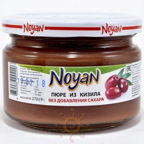 Пюре из кизила без сахара Noyan, 270г