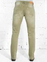 YH322 джинсы мужские, зеленые