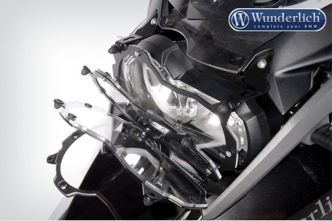 Защита фары (стекло прозрачное) открывающаяся BMW R1200GSA