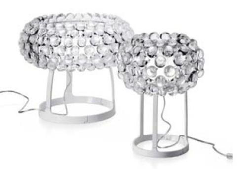 replica Caboche Table Lamp ( 50 cm , clear )