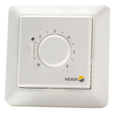 Терморегулятор для теплого пола. Цвет Белый. Veria Control B45. 189B4050