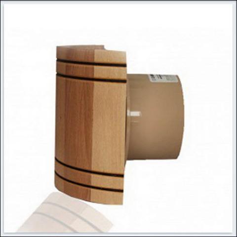 Вентилятор накладной MMotors JSC MM-S 100 бочка, жаростойкий с обратным клапаном  (для бань, саун, хамам)