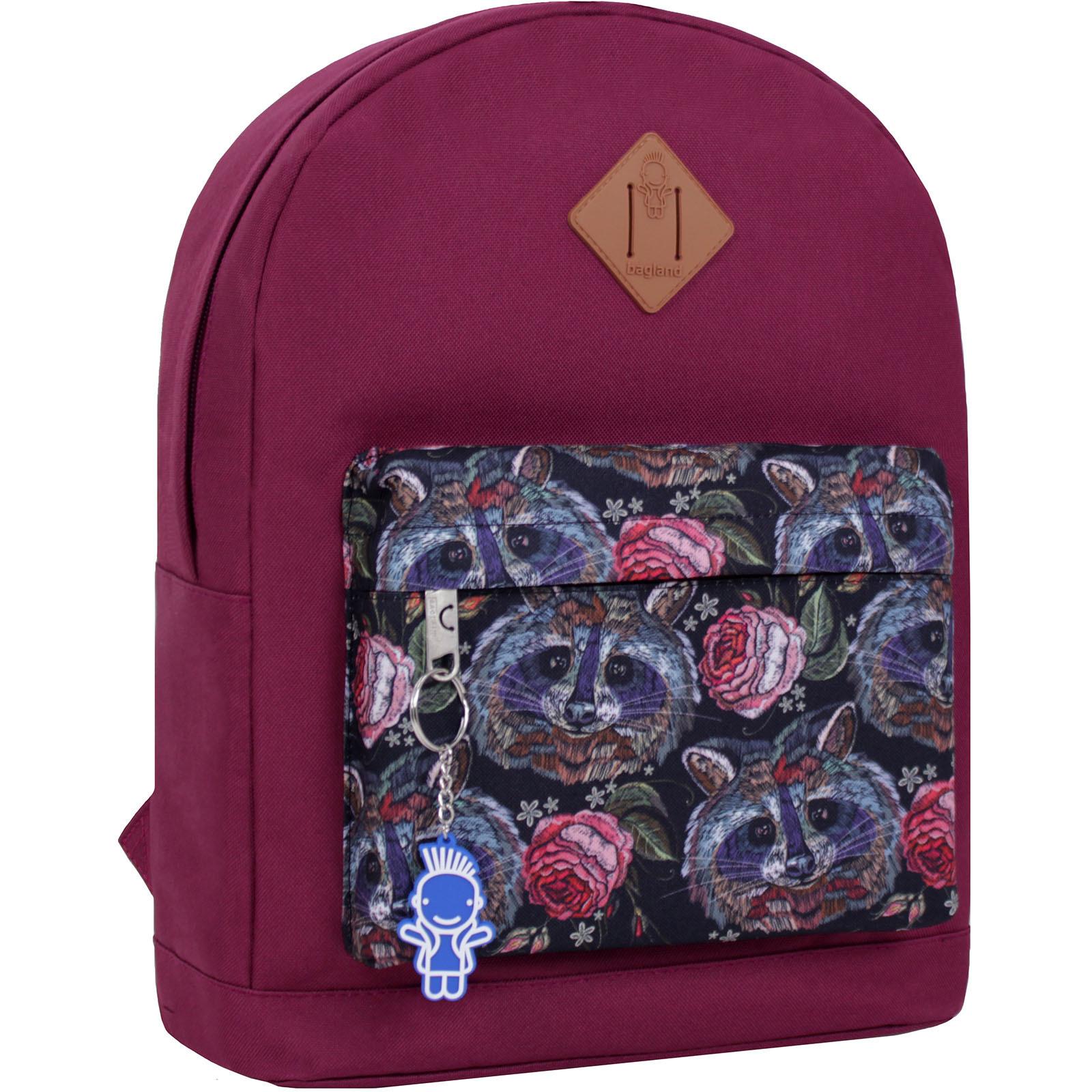 Городские рюкзаки Рюкзак Bagland Молодежный W/R 17 л. вишня 477 (00533662) IMG_2675_суб.477_.JPG