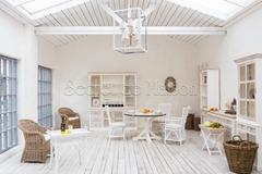 Ривьера (C)толик журнальный Secret De Maison RIVIERA — белый+натуральный дистресс