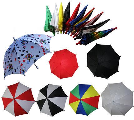 Цветные зонтики для фокусов