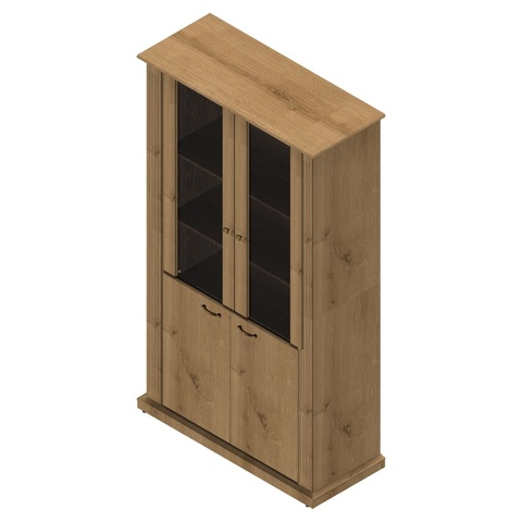 Шкаф комбинированный Советник