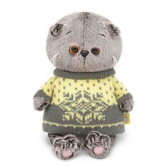 Кот Басик Baby в свитере
