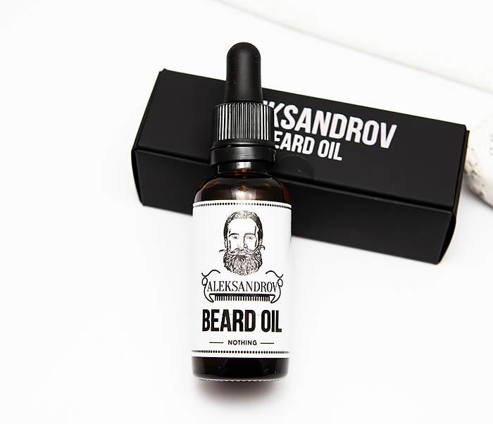 RAZ420-1 Масло для бороды без запаха Aleksandrov «Nothing» (30 мл) фото 02