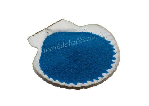 Синий цветной песок 300 гр.