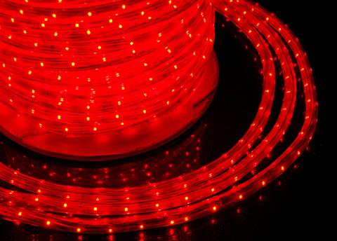 ЛЭД дюралайт красный светодиодная лента шланг
