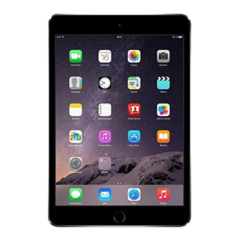 iPad mini 3 Wi-Fi + Cellular 128Gb Space Gray - Серый космос