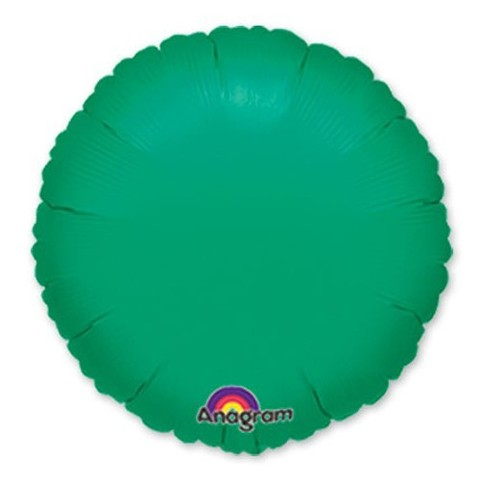Круг Металлик, Зеленый (46 см)