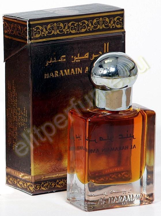 Пробники для Харамайн Янтарь Haramain Amber 1 мл арабские масляные духи от Аль Харамайн Al Haramin Perfumes
