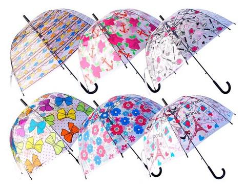 Зонтик в ассортименте в/п 80 см