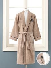 Набор LUXURE мужской махровый халат с полотенцем  SOFT COTTON Турция