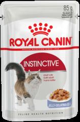 Royal Canin Instinctive влажный корм в Желе для кошек и котов старше 1 года