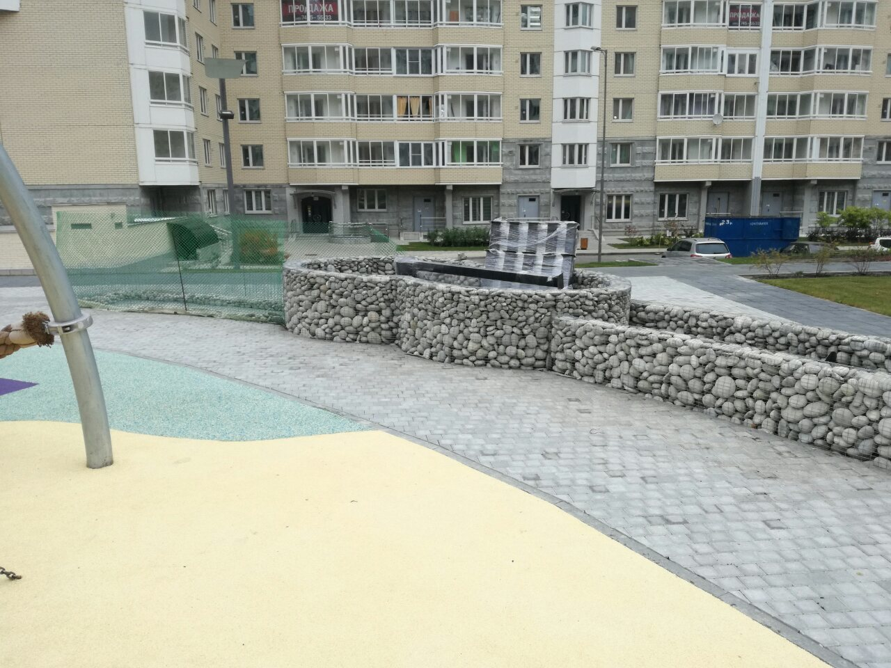 Детская площадка Булыжник морской Черноморский