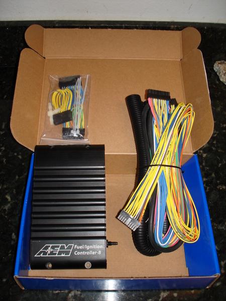 AEM FIC 8 Fuel Ignition Controller Контроллер обманка мозга, цвет черный