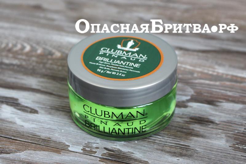 Бриллиантин для укладки волос Clubman