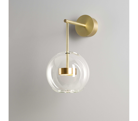 Wall lamp Soffio 02 (v) by Giopatto & Coombes Mono