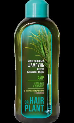 Floralis Dr.Hair Plant Шампунь мицеллярный Аир против выпадения волос 1000г