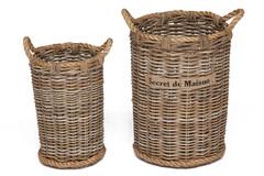 Корзина Secret De Maison Атала (Atala)(набор из 2 штук) — Натуральный Кубу / Natural Kubu