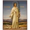 Стефан Первомученик, апостол от 70-ти. Рукописная икона на липовой доске.