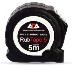 Рулетка ADA RubTape 5 (сталь, с двумя СТОПами, 5 м) (А00156)