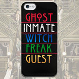 Чехол для iPhone 7+/7/6s+/6s/6+/6/5/5s/5с/4/4s Ghost Inmate Witch Freak Guest