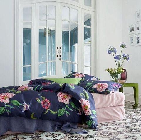 Постельное белье 2 спальное евро макси Schlossberg Альва Блу 3