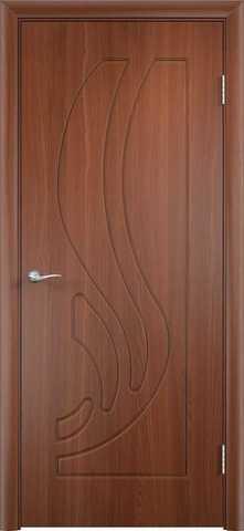 Дверь Сибирь Профиль Лилия, цвет итальянский орех, глухая
