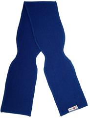 Шарф ManyMonths, от 5 лет и более (от 104 см), Синий (шерсть мериноса 100%)