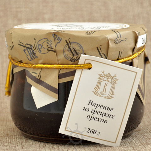 Грецкие орехи в сосновом сиропе Косьминский гостинец, 260г