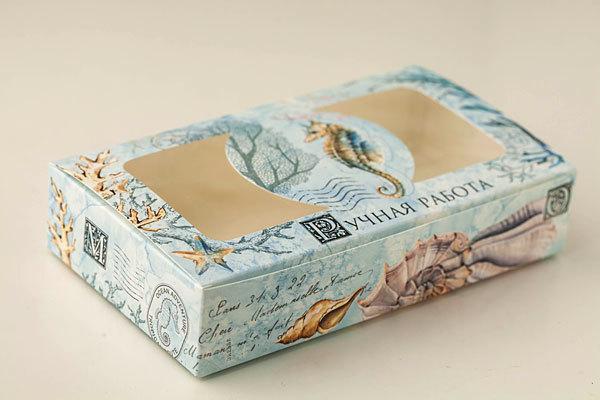 Коробочка для мыла в морском стиле