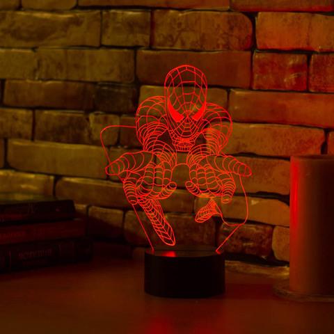 Светильник Человек паук #3