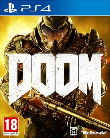Sony PS4 DOOM (русская версия)