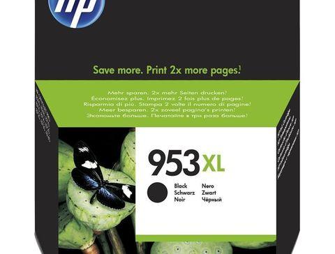 Картридж №953XL для HP OfficeJet Pro 8710, 8715, 8720, 8725, 8730, 8210, черный. Ресурс 2000 стр (L0S70AE)
