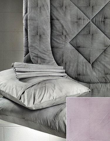 Постельное белье 2 спальное евро макси Cassera Casa Alagon розовое