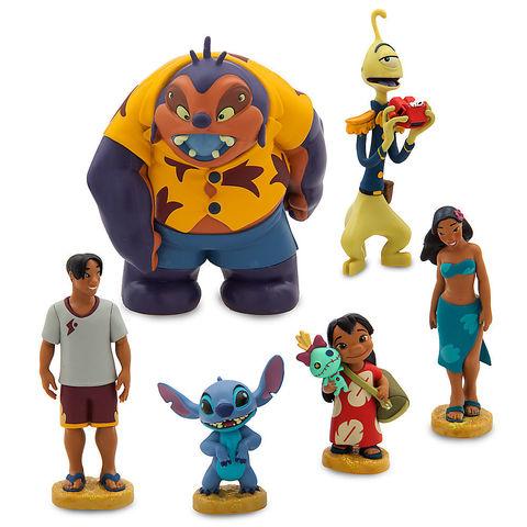 Игровой набор фигурок героев дисней Лило и Стич - Lilo & Stitch, Disney
