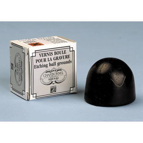 Грунт шарообразный твердый черный Charbonnel (прочный) Lefranc&Bourgeois