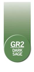 Маркер Chameleon Color Tones глубокий светло-зеленый GR2